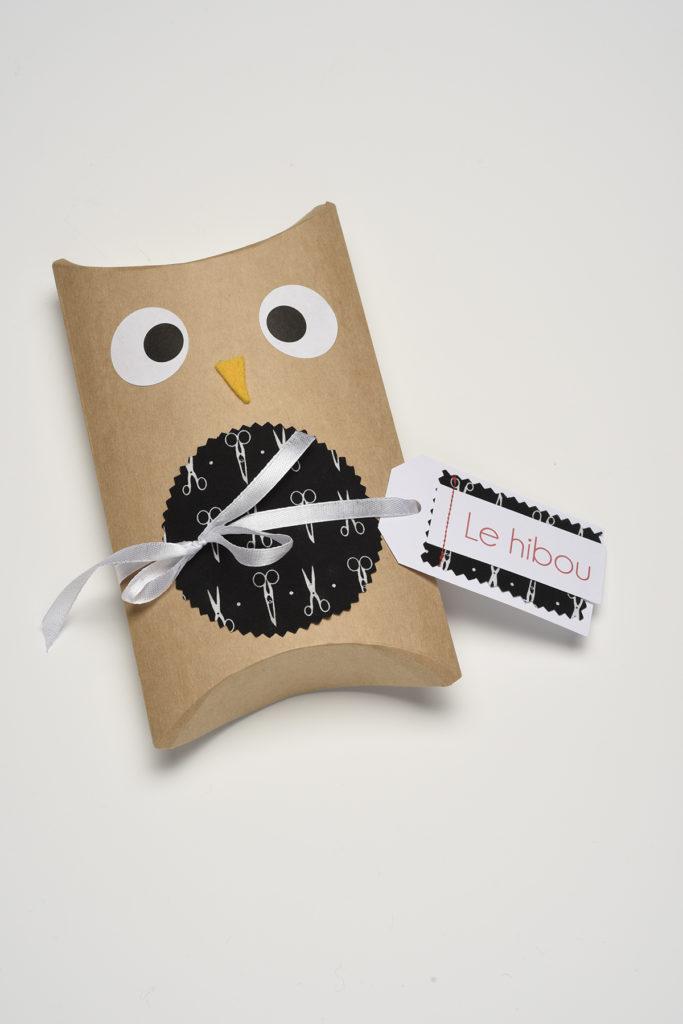 Packaging du hibou
