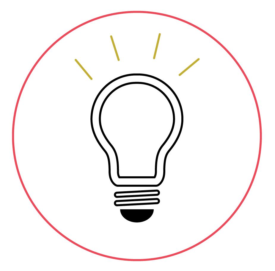 Une chouette idée (ampoule)